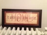 Sweet sign for home