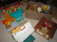 Large lot of FISHER PRICE toys
