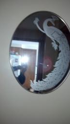 Gloria Eriksen Peacock Mirror
