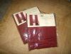 Oxblood Colored Window Panels - New in Package from Pier 1!