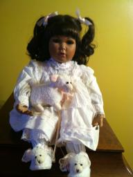 Mary Little Lamb Doll