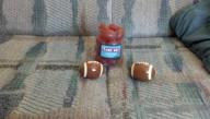 Game Day Salt & Pepper Shakers and Reuseable Ice Cubes