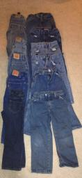 12 pairs Boys Jeans size 6