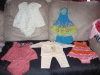 Bag of 0-3mo. Baby Girl Clothes