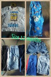Boys Clothes 12 months 8 items
