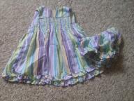 0-3 girls spaghetti strap dress