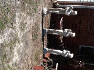 Concrete statue lady