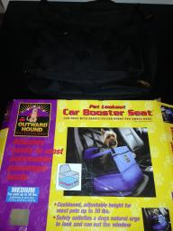 Pet Car Booster Seat - $20 (Morton)