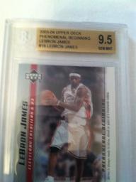 LeBron James 2003-04 UpperDeck Phenomenal Beginning