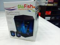 Glofish tank with accessories