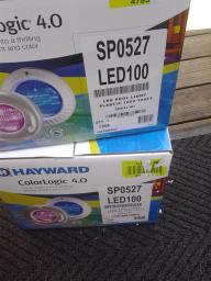2-Hayward ColorLogic 4.0LED 120V Swimming Pool Lights 100ft cord