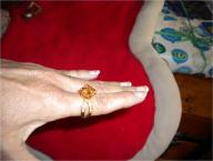 Women's Gold/Cubic Zirconnia Ring Size 7
