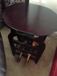 Wine rack/coffee table