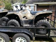 2007 Yamaha Grizzly 4X4 EFI EPS  matching pair