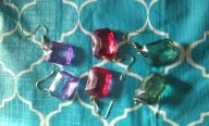 Ruby Type Eclectic Earrings
