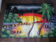 Hand Painted Canvas, Dominican Republic