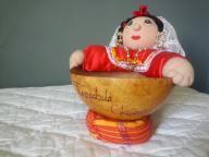 Souvenir fruit bowl, Tapachula, Chiapas, Mexico