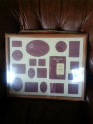 American Oak 16x20 Pictures Frame, 18 openings