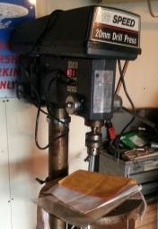 16 Speed 20mm Drill Press (Floor mount)