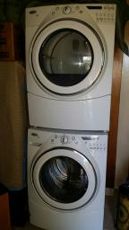 Whirlpool Duet, Washer & Dryer Set