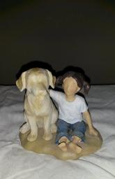 Forever in Blue Jeans Collection - Girl and her Dog