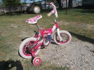 Girls Barbie starter bike