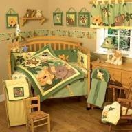 Nojo Safari Crib Bedding