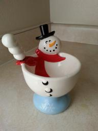 Snowman Server with Spreader