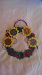 Handmade Welcome Wreath