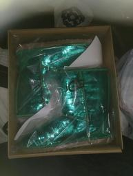 Beautiful (Brand New In Box) Emerald Sparkle Uggs Size 9