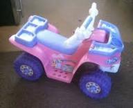 Barbie 6-Volt Beach Jeep Ride On