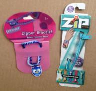 Set of 2 Zipper Bracelets (Set of #7)