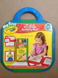 My First Crayola Washable Dry Erase Activity Pad (Item #8)