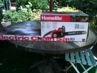Homelite Electric Chainsaw