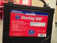 West Marine SeaVolt 12 Volt Marine Starting Battery