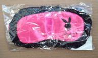 New - Ruffle Trim Playboy Sleep Mask (Item #13)