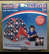 American Kids Collection - Boy's Play Tent Combo (Item #15)