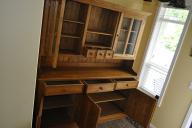 Hungarian Pine Cabinet - 2 part large wooden kitchen cabinet