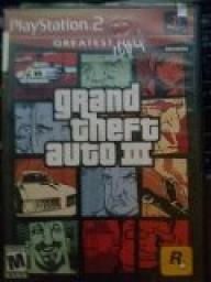 Grand Theft Auto 3 playstation 2