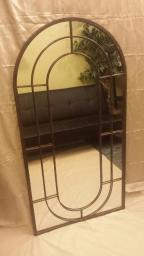 Cathedral style mirror