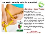 L-Carnitine + Apple Cider Vinegar Pills