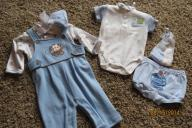 3-6mo Boy's Infant Outfits