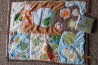 Crib Comforter with matching Window Valance