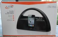 iLive Portable Music System for iPod + iPhone