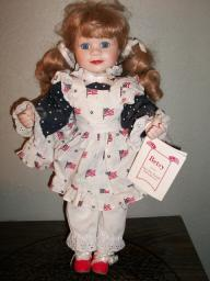 Betsy the hamilton heritage doll, Join the parade collection, Pat