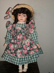 Porcelain Doll by HJ&G Inc.