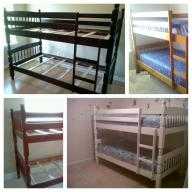Bunk Bed set cappuccino (without mattress)
