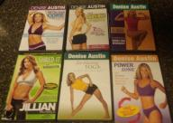 Set of 6 workout DVDs