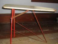 Toy metal ironing board