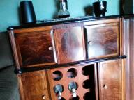 Vintage Radio reclaimed as a bar